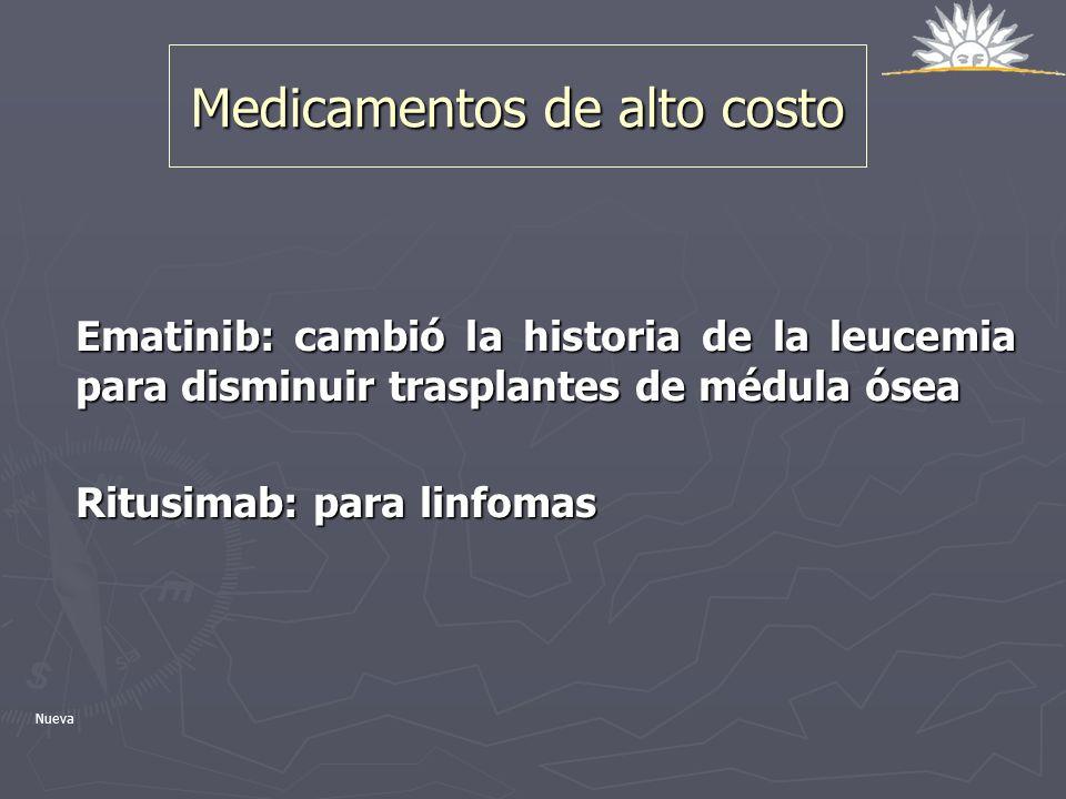 Medicamentos de alto costo