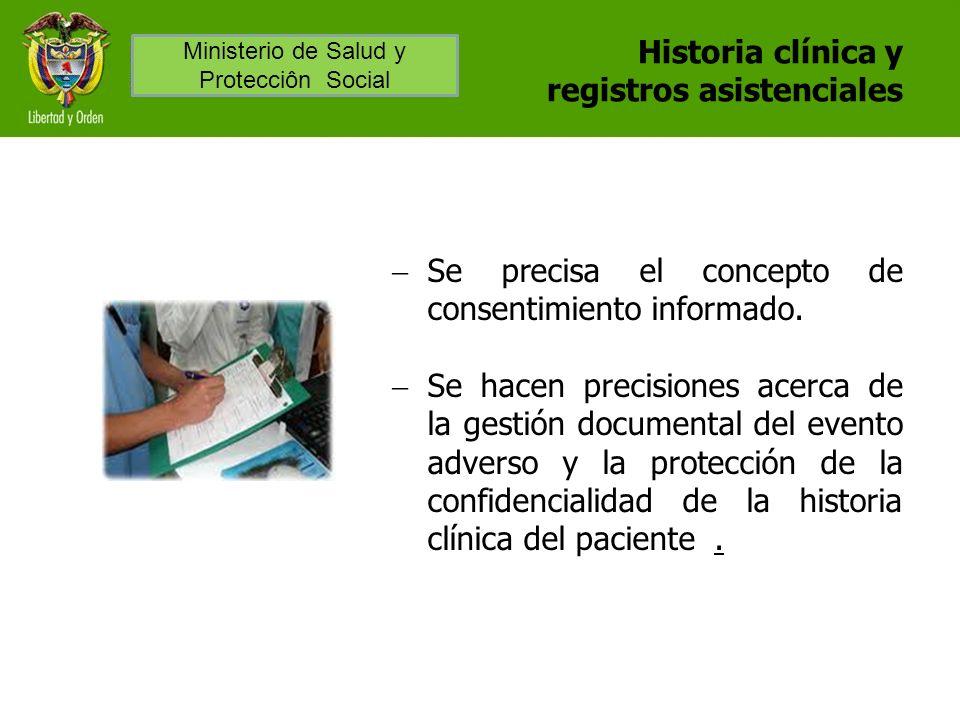 Historia clínica y registros asistenciales
