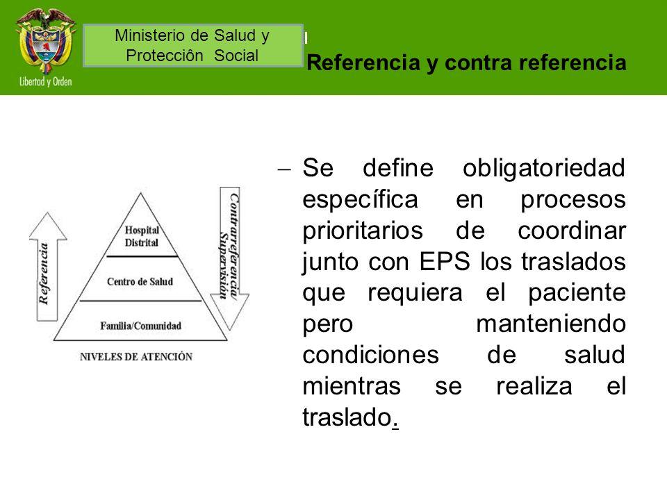 Referencia y contra referencia