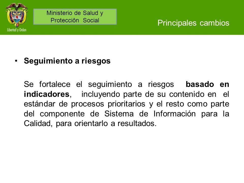 Ministerio de Salud y Protecciôn Social