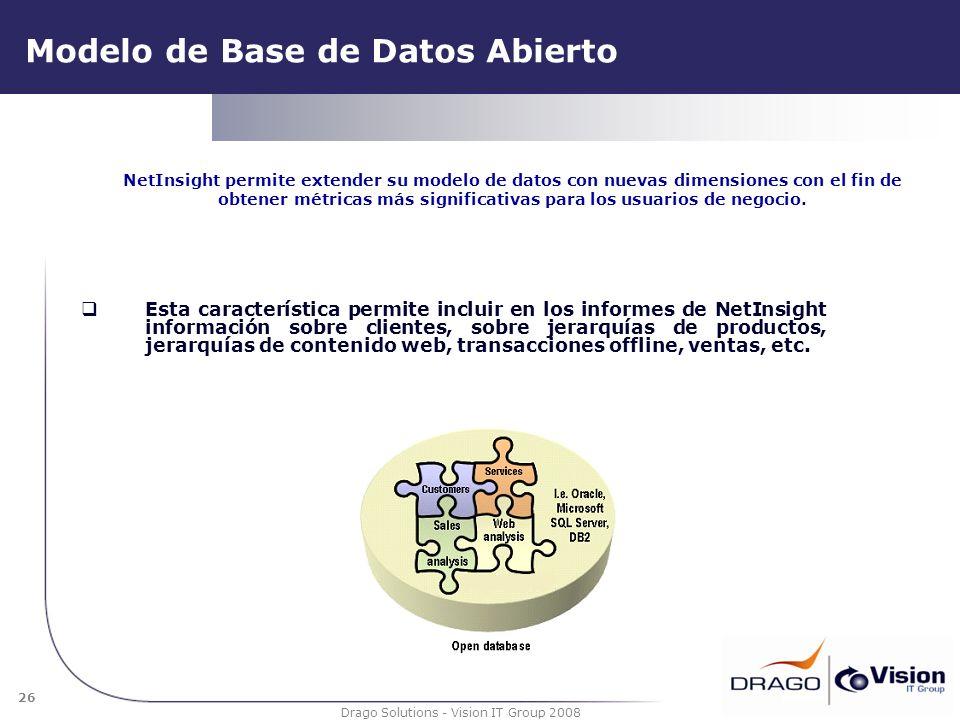 Modelo de Base de Datos Abierto