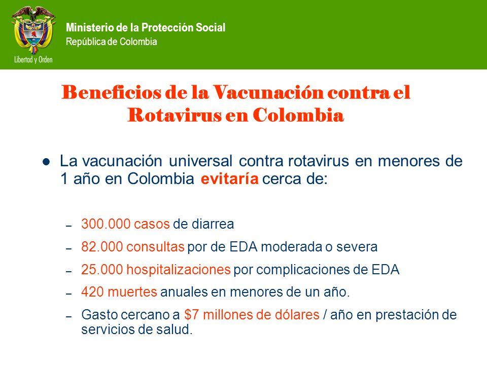 Beneficios de la Vacunación contra el Rotavirus en Colombia
