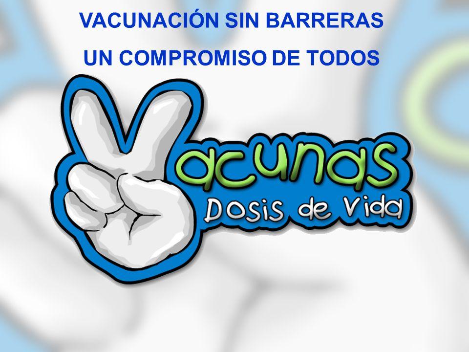 VACUNACIÓN SIN BARRERAS