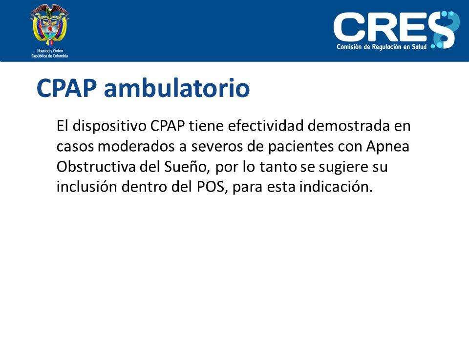 CPAP ambulatorio