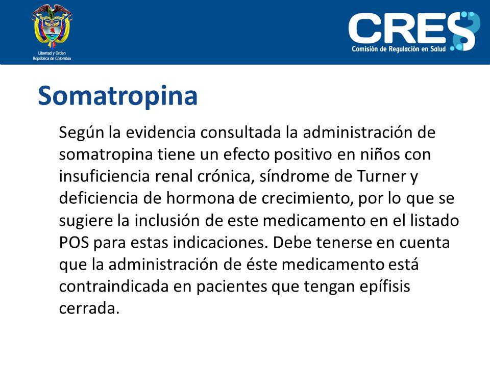 Somatropina