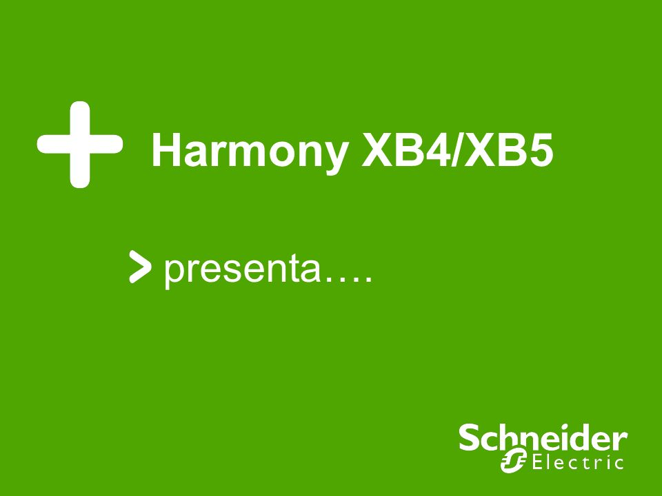 Harmony XB4/XB5 presenta….