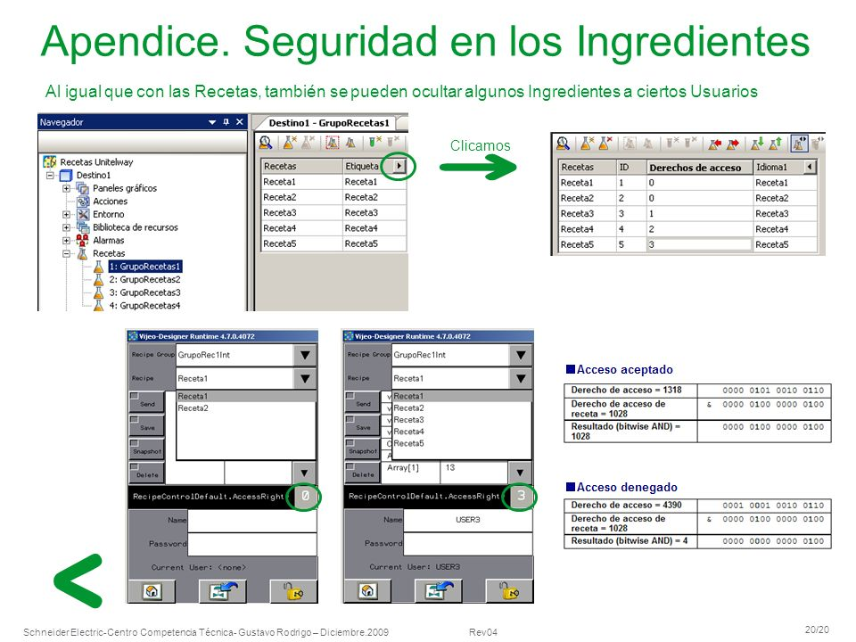 Apendice. Seguridad en los Ingredientes
