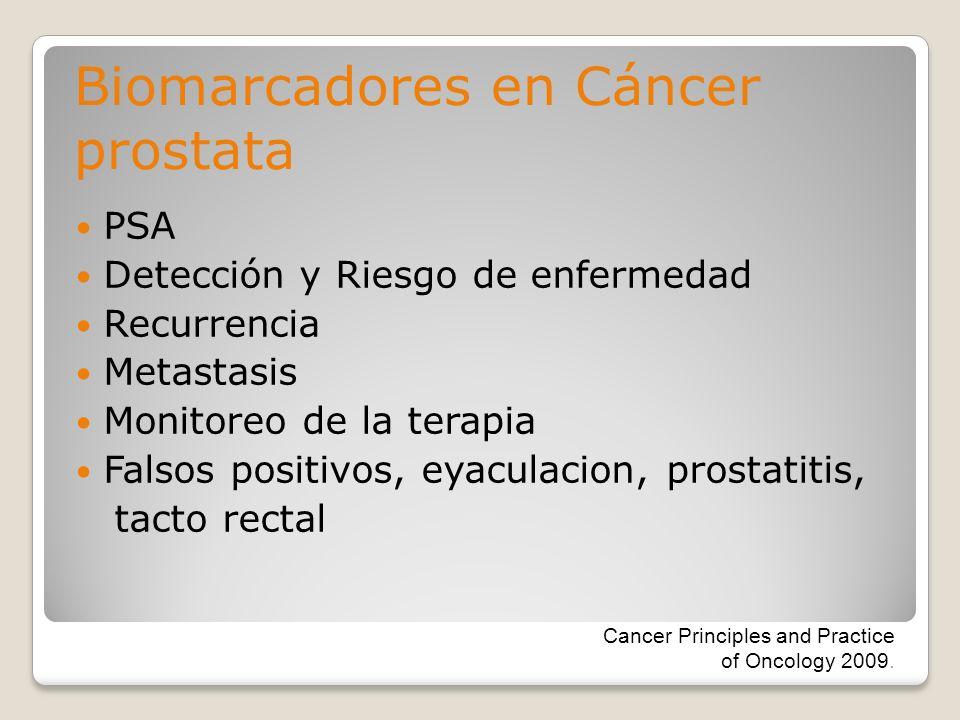 Biomarcadores en Cáncer prostata