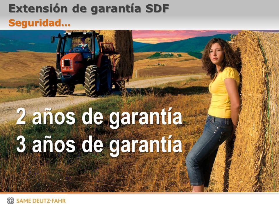 Extensión de garantía SDF