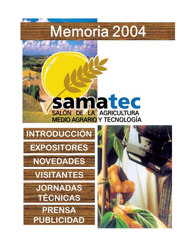 Memoria 2004 INTRODUCCIÓN EXPOSITORES NOVEDADES VISITANTES