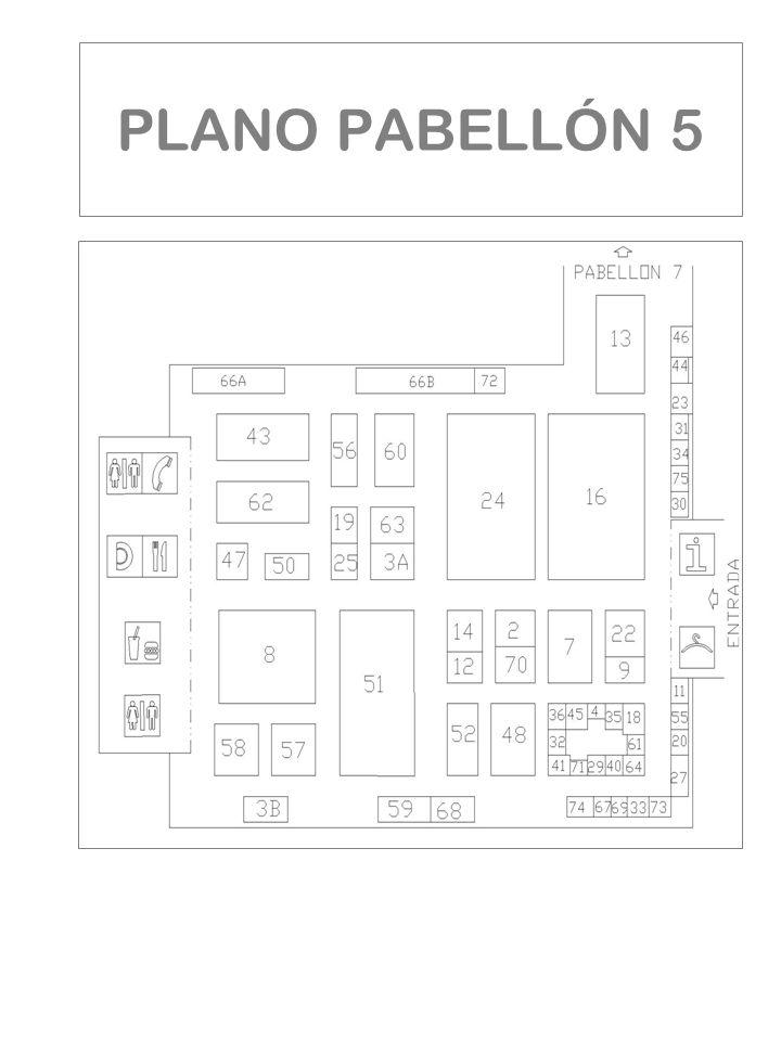 PLANO PABELLÓN 5