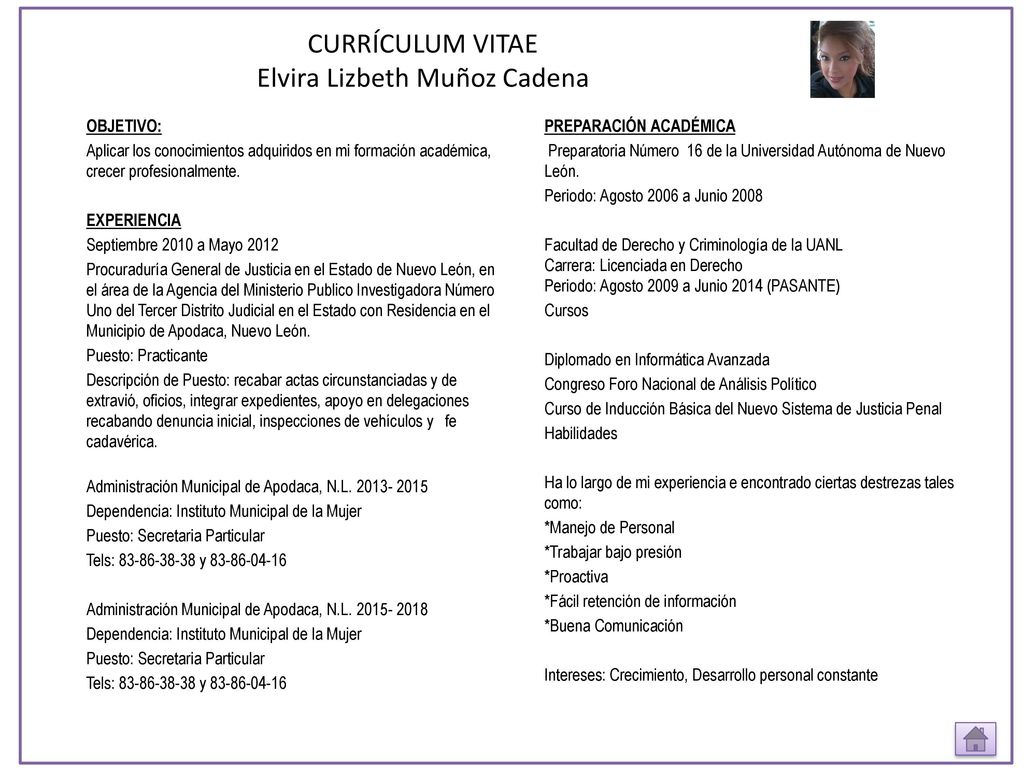 Excepcional Descripción De La Pasantía De Auditoría En El Currículum ...