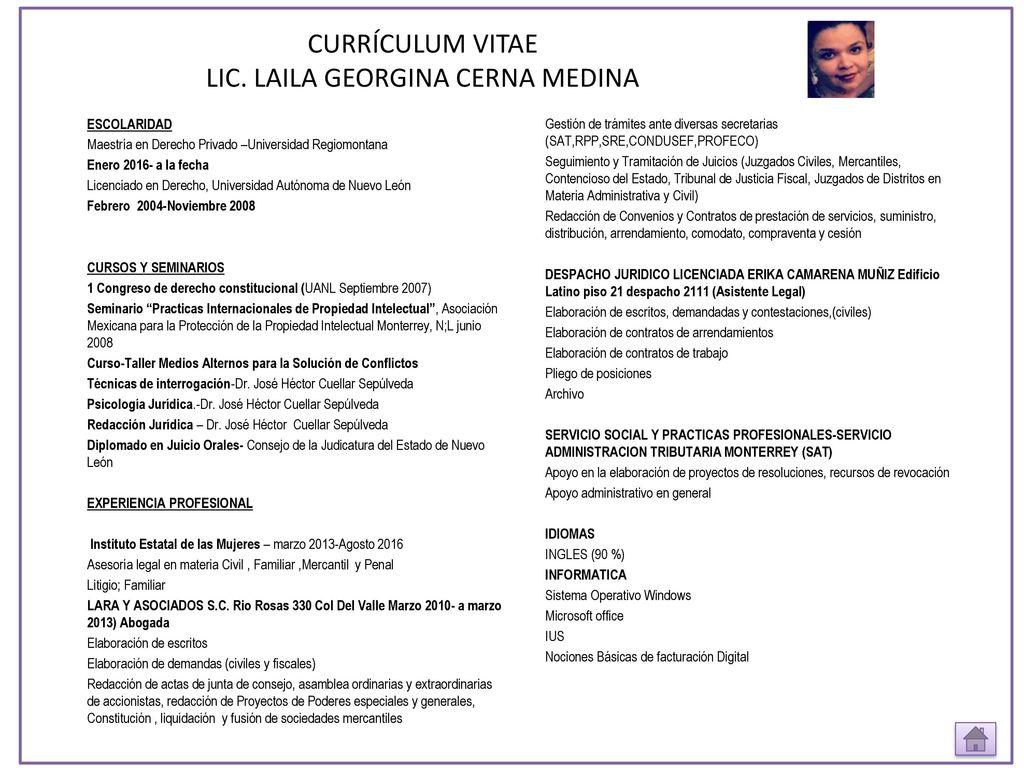 Excepcional Ejemplo De Currículum Privado Elaboración - Colección De ...