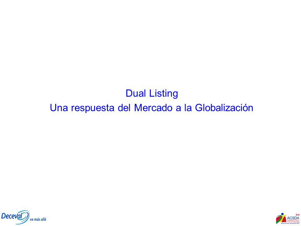 Una respuesta del Mercado a la Globalización
