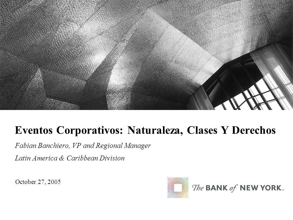 Eventos Corporativos: Naturaleza, Clases Y Derechos
