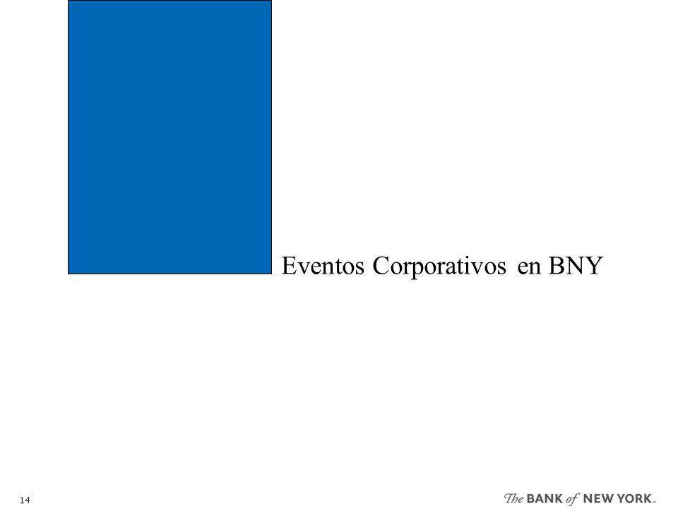 Eventos Corporativos en BNY