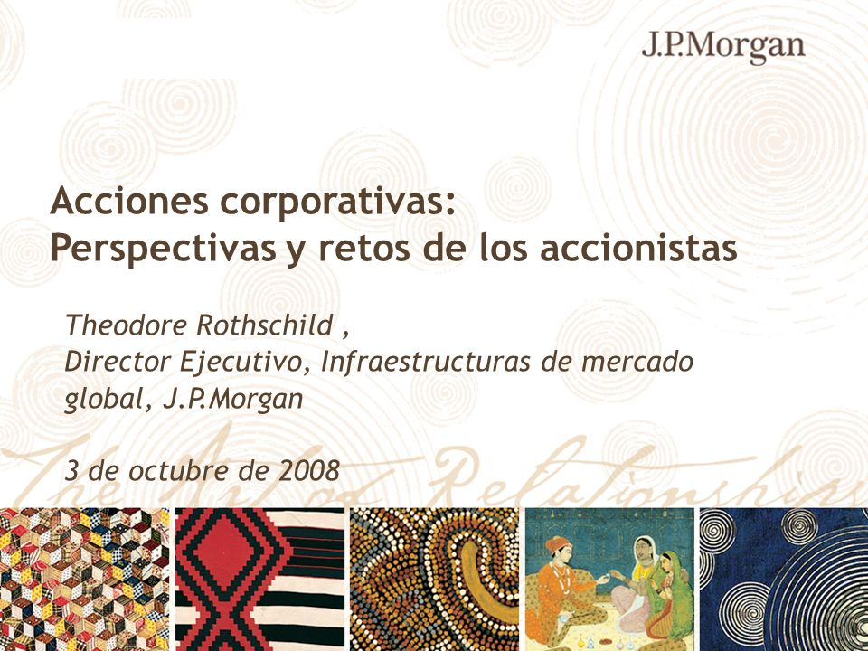 Acciones corporativas: Perspectivas y retos de los accionistas