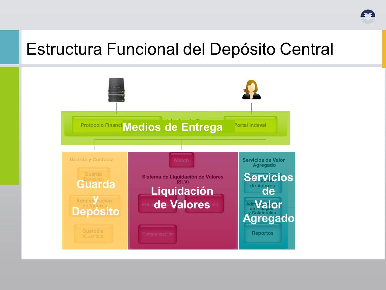 Estructura Funcional del Depósito Central