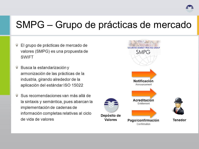 SMPG – Grupo de prácticas de mercado