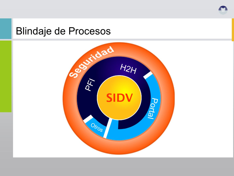 Blindaje de Procesos H2H PFI SIDV Portal Otros