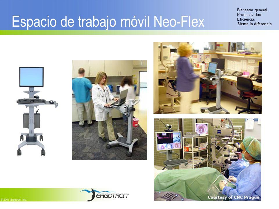 Espacio de trabajo móvil Neo-Flex