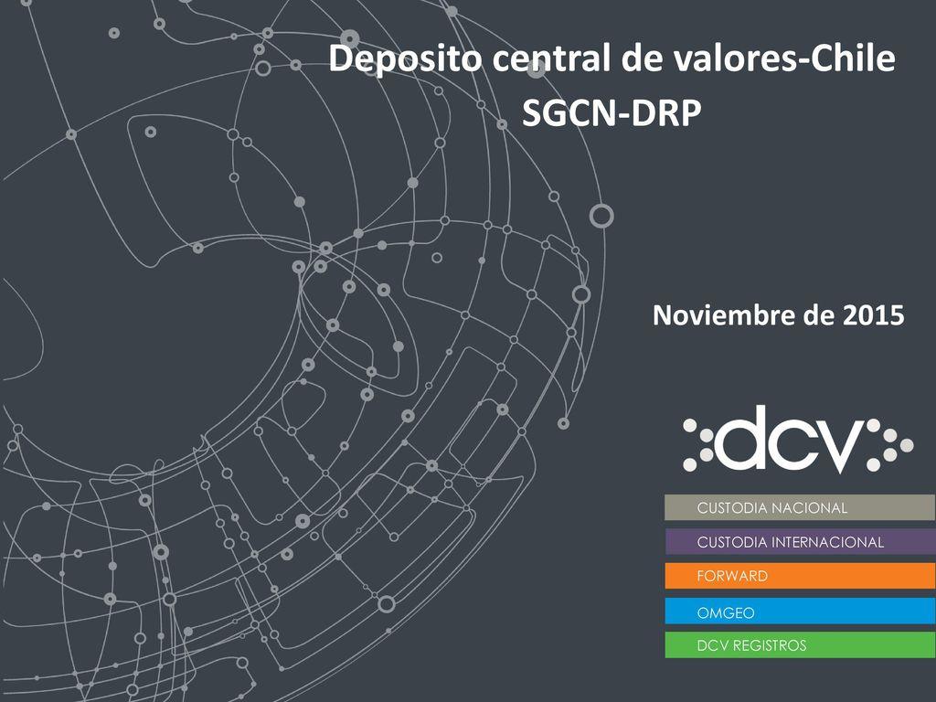 Deposito central de valores-Chile - ppt descargar