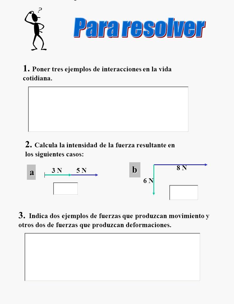 Para resolver ejercicios 1-3