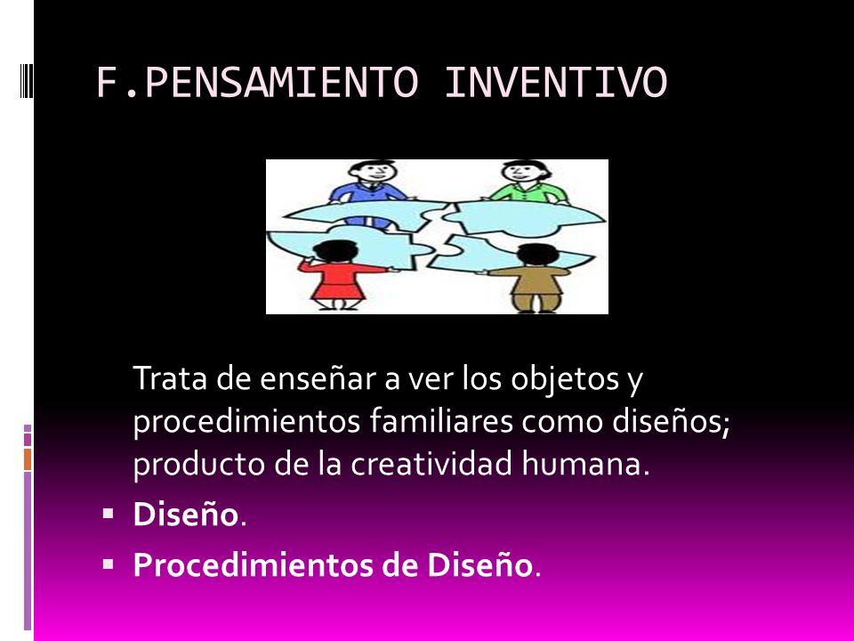 F.PENSAMIENTO INVENTIVO