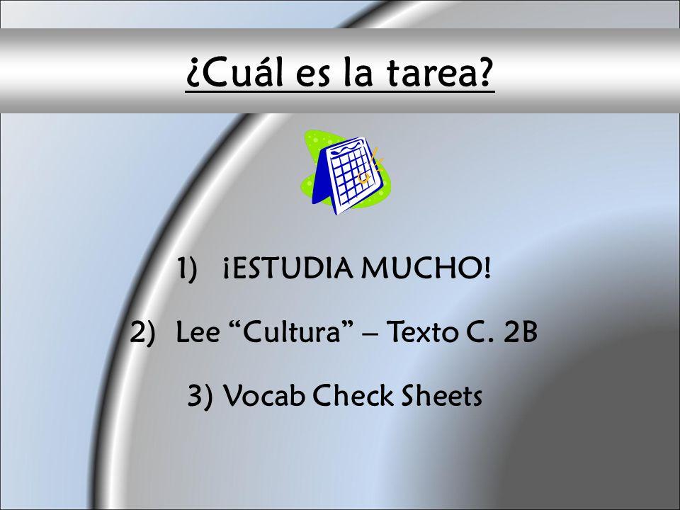 Lee Cultura – Texto C. 2B