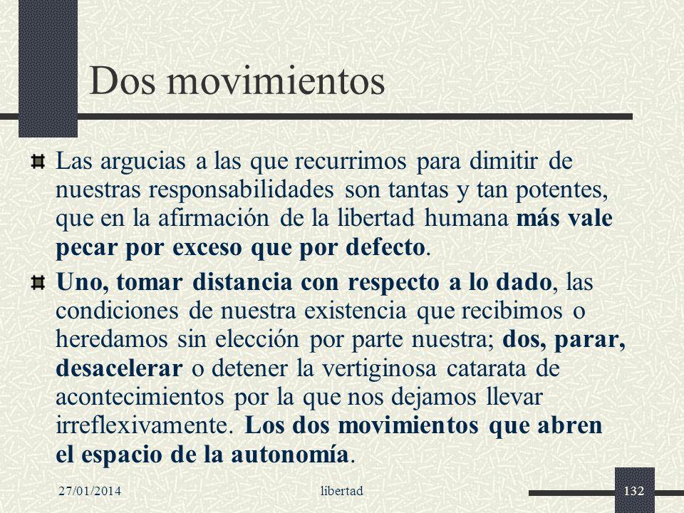 Dos movimientos