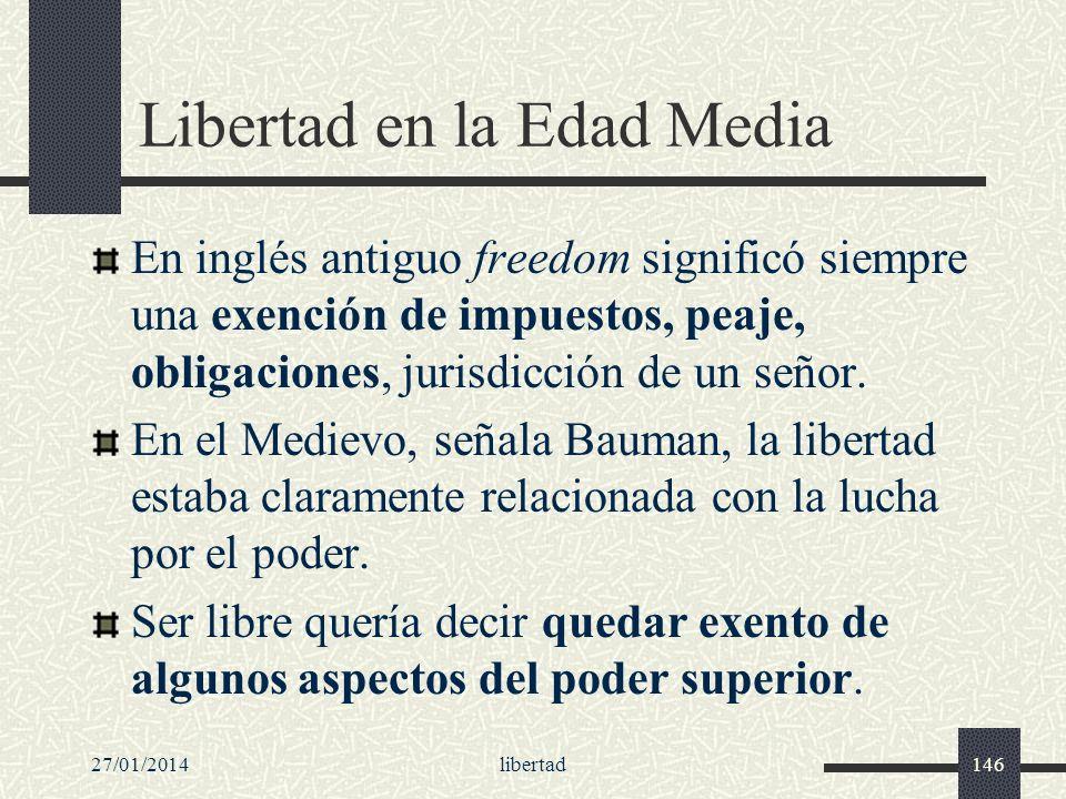 Libertad en la Edad Media