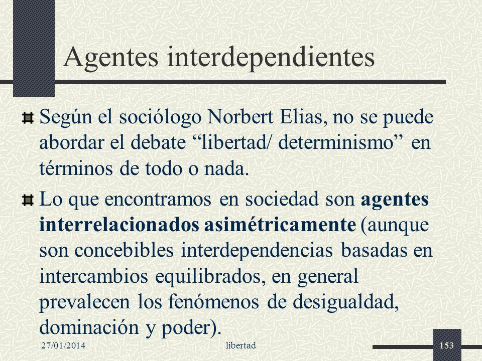 Agentes interdependientes