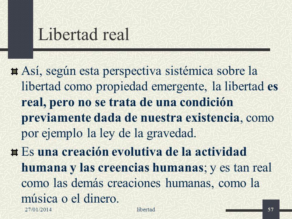Libertad real