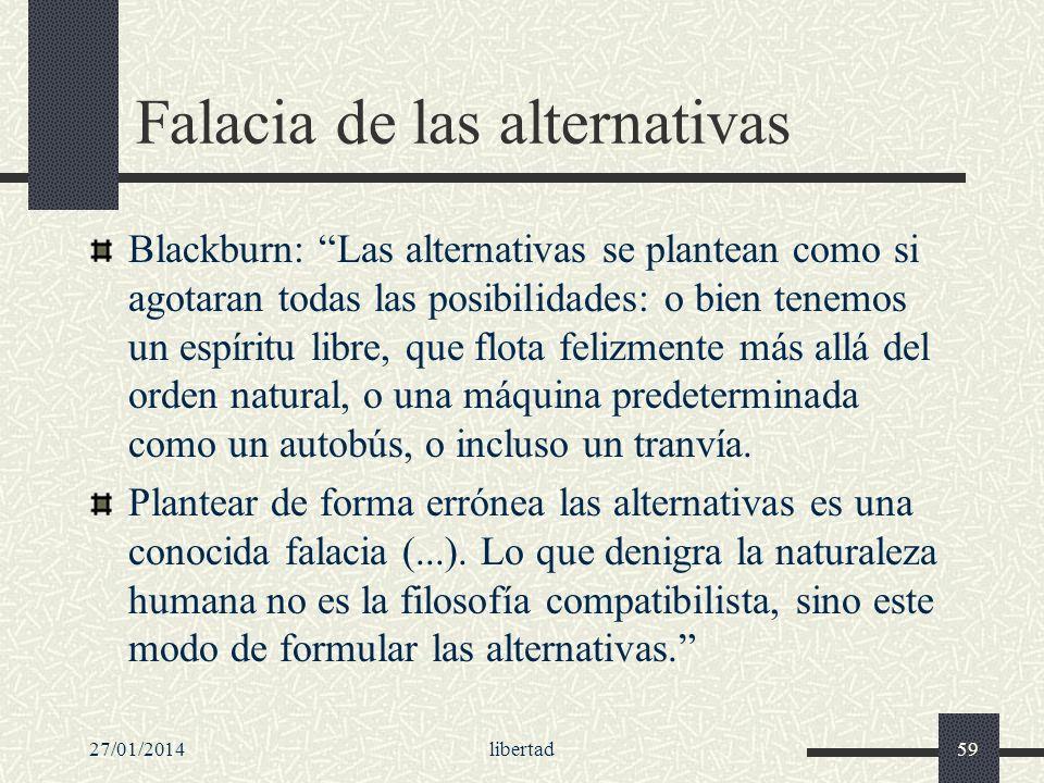 Falacia de las alternativas