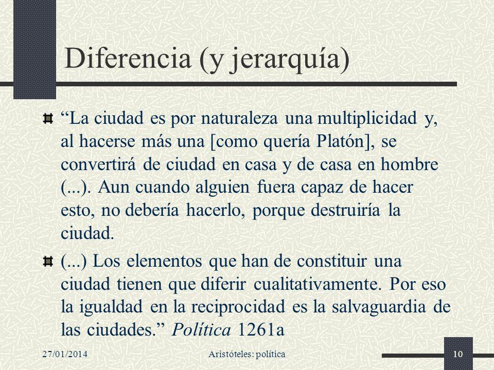 Diferencia (y jerarquía)