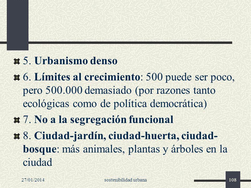 sostenibilidad urbana