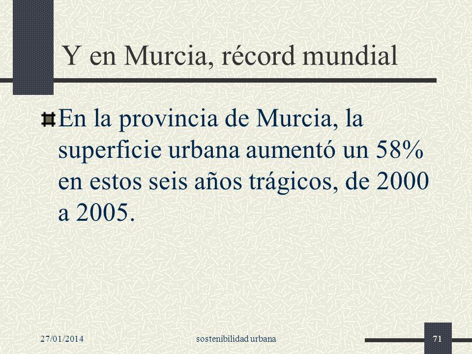 Y en Murcia, récord mundial
