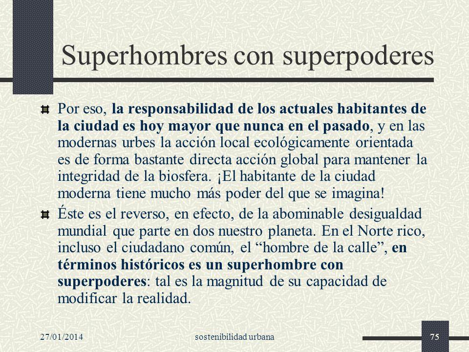 Superhombres con superpoderes