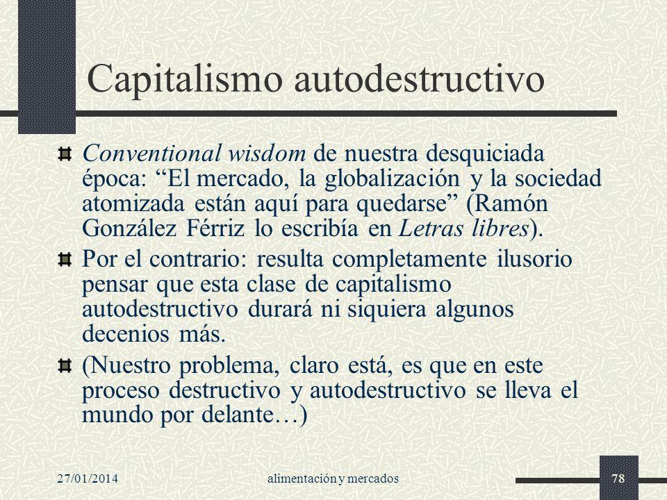 Capitalismo autodestructivo
