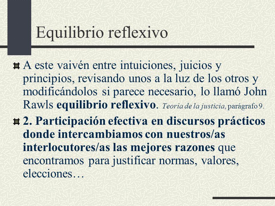 Equilibrio reflexivo