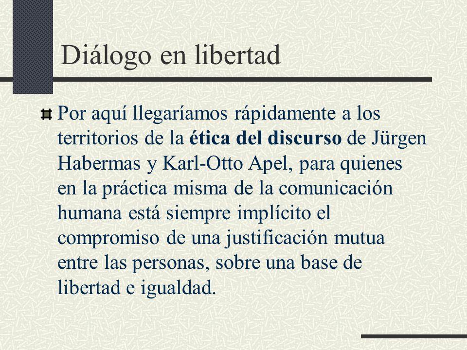 Diálogo en libertad