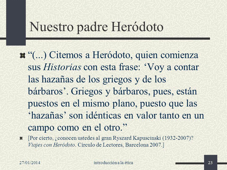 Nuestro padre Heródoto