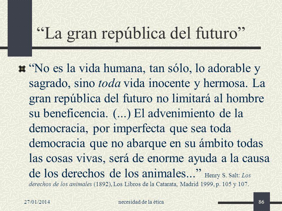 La gran república del futuro