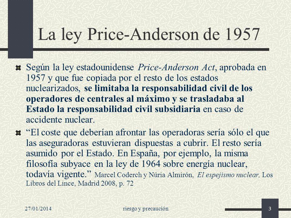 La ley Price-Anderson de 1957