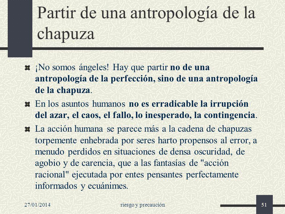 Partir de una antropología de la chapuza