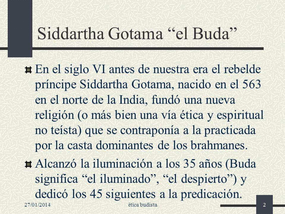 Siddartha Gotama el Buda