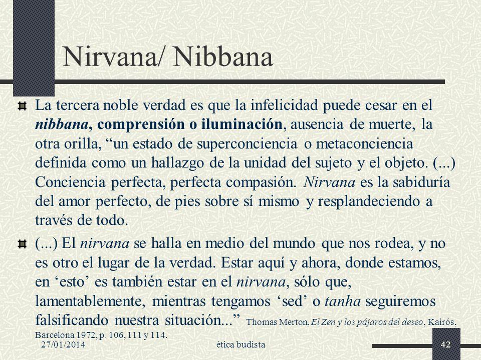 Nirvana/ Nibbana