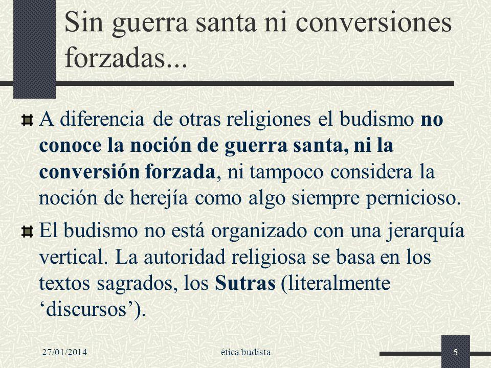 Sin guerra santa ni conversiones forzadas...