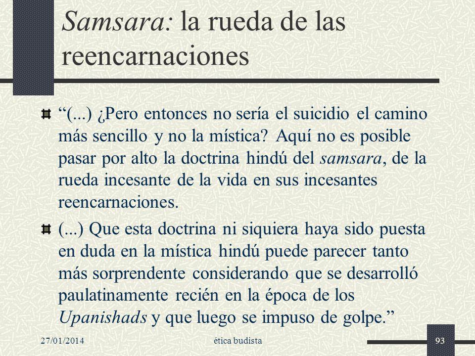 Samsara: la rueda de las reencarnaciones