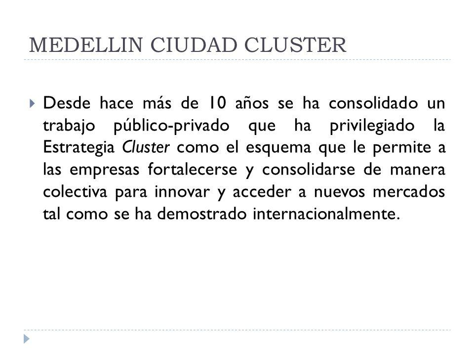 MEDELLIN CIUDAD CLUSTER